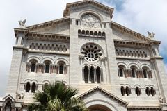 Saint Nicholas Cathedral in Monaco city Royalty Free Stock Photo