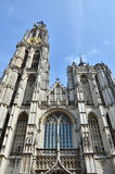 Cathedral of Our Lady, Landmark in Antwerp Royalty Free Stock Image