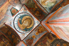 Cathedral of Our Lady of Smolensk iconostasis Stock Photos