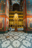 Cathedral of Our Lady of Smolensk iconostasis Stock Photo