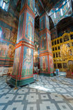 Cathedral of Our Lady of Smolensk iconostasis Royalty Free Stock Photo