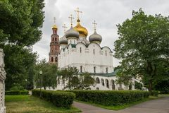 Cathedral of Our Lady of Smolensk, inside the Novodevichy conven Royalty Free Stock Photos