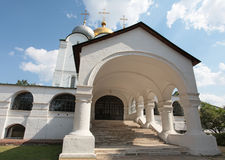 Cathedral of Our Lady of Smolensk. Novodevichiy convent Stock Photo