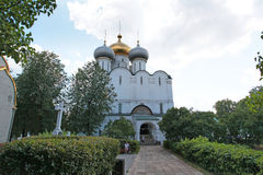 Cathedral of Our Lady of Smolensk. Novodevichiy convent Royalty Free Stock Images
