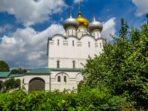 Cathedral of Our Lady of Smolensk, Novodevichy Convent, Moscow, Russia Royalty Free Stock Image