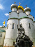 Cathedral of Our Lady of Smolensk, Novodevichy Convent, Moscow, Russia Stock Images