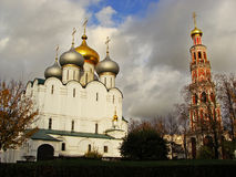 Cathedral of Our Lady of Smolensk, Novodevichy Monastery, Moscow Stock Photos