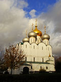 Cathedral of Our Lady of Smolensk, Novodevichy Monastery, Moscow Stock Image