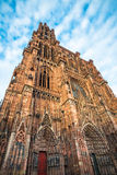 Cathedral of Our Lady of Strasbourg, Alsace, France Stock Photo
