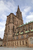 Cathedral of Our Lady. Strasbourg, France Stock Photos