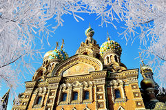 Cathedral of Our Saviour on Spilled Blood in St. Petersburg, Russia Stock Photo