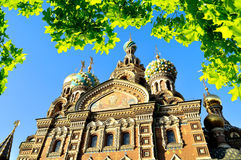 Cathedral of Our Saviour on Spilled Blood, St. Petersburg Royalty Free Stock Images