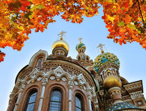 Cathedral of Our Saviour on Spilled Blood, St. Petersburg Stock Photos