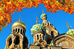 Cathedral of Our Saviour on Spilled Blood, St. Petersburg Stock Photo