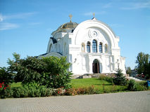 Cathedral over. Nikolay. Is in territory of the Brest fortress Royalty Free Stock Photos