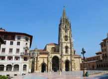 Cathedral of Oviedo Stock Photo