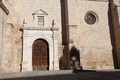 Cathedral of Palencia Stock Photography