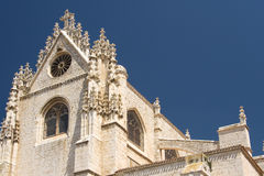 Cathedral of Palencia Royalty Free Stock Images