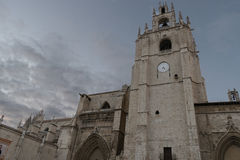 Cathedral of Palencia Royalty Free Stock Photography