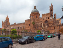 Cathedral in Palermo Royalty Free Stock Images