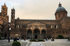 Cathedral Palermo. Norman arab cathedral in Palermo,  Sicily. Foto was taken in april 2011 Stock Photo