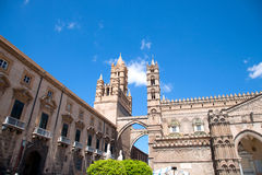 The Cathedral of Palermo. Royalty Free Stock Photos