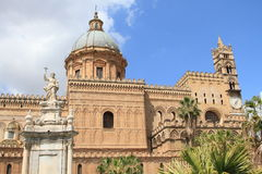 Cathedral of Palermo Royalty Free Stock Photo