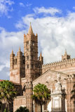 Cathedral of Palermo. Palermo's historic cathedral dedicated to the Virgin Maria. A splendid architecture built in different styles Stock Photography