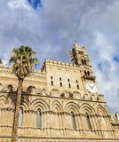 Cathedral of Palermo. Palermo's historic cathedral dedicated to the Virgin Maria. A splendid architecture built in different styles Royalty Free Stock Photography