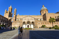 The Cathedral of Palermo Stock Photography