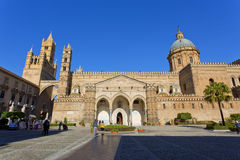 The Cathedral of Palermo Royalty Free Stock Photos