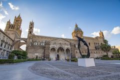 CATHEDRAL OF PALERMO, SICILY. CATHEDRAL OF PALERMO, CITY OF PALERMO SICILY, ITALY Royalty Free Stock Image