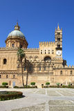 Cathedral of palermo Stock Image