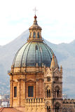 Cathedral of palermo, the dome Royalty Free Stock Photo
