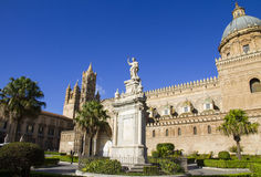 The Cathedral of Palermo, Italy Royalty Free Stock Images