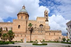 Cathedral in Palermo, Italy royalty free stock image