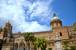 Cathedral of Palermo Stock Images