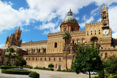Palermo Cathedral, Sicily, Italy Royalty Free Stock Photos