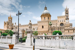 The Cathedral of Palermo. Metropolitan Cathedral of the Assumption of Virgin Mary. Palermo Cathedral is the cathedral church of the Roman Catholic Archdiocese of Stock Photography