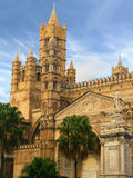 Cathedral in palermo Stock Photos