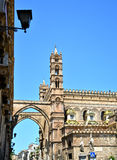 Cathedral of Palermo. Palermo majestic Cathedral of Saint Virgin Mary Assumption Royalty Free Stock Image