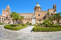 Cathedral of Palermo, Sicily Royalty Free Stock Photo