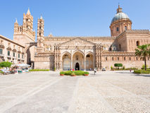 Cathedral in Palermo, Sicily Stock Photos
