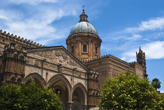 Cathedral of Palermo- Sicily. Detail of the cathedral of Palermo. Sicily. Italy Stock Photography