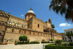 The Cathedral of Palermo, Sicily Royalty Free Stock Photos