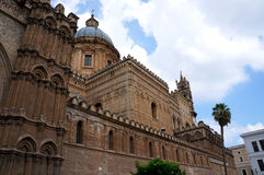The cathedral of Palermo in Sicily Royalty Free Stock Photography