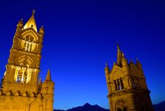 CATHEDRAL OF PALERMO, SICILY. CATHEDRAL OF PALERMO, CITY OF PALERMO SICILY, ITALY Stock Photos