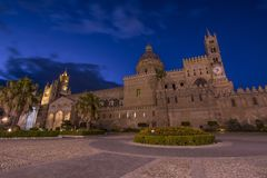 CATHEDRAL OF PALERMO, SICILY. CATHEDRAL OF PALERMO, CITY OF PALERMO SICILY, ITALY Stock Photo