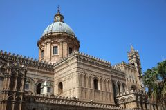 Cathedral of Palermo on Sicily. The Cathedral of Palermo on Sicily. Italy Stock Photo