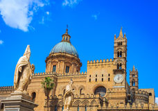The Cathedral of Palermo, Sicily. Stock Photography